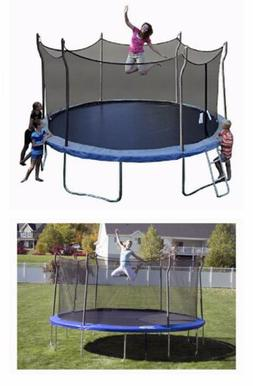 14 foot trampoline with safety enclosure local