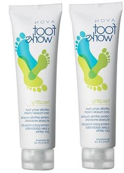 2 Foot Works Healthy Arthritis Achy Foot & Muscle Creams by