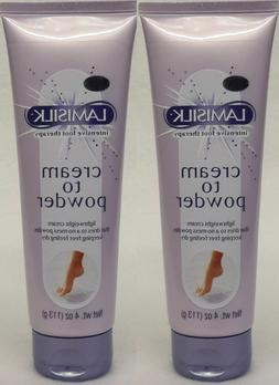 2 intensive foot therapy cream to powder