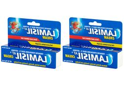 2 Pack Lamisil AT Athletes Foot Antifungal Cream 1 oz/30 g x
