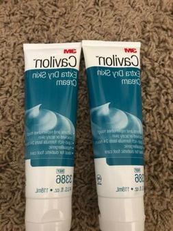 2 Pack Cavilon Extra Dry Skin Cream, Foot Moisturizer, 4 Oun