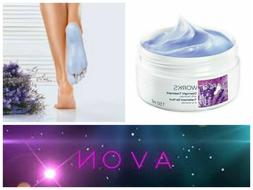 2 x Avon FOOT WORKS Overnight Treatment Cream with Lavender