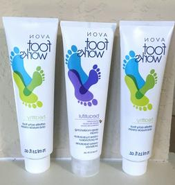 3 Avon Foot Works- 2 Arthritis Achy Foot and Muscle & 1 Deep