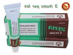 3p x 5g. Zema Cream Dermatitis for Athlete's Foot Tinea Fung