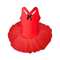ARINLA Child toddler Kid girls gauze ballet shoes Dance outf