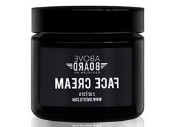 Above Board Men's Night Cream; Facial Skin Moisturizer Fig