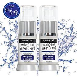 Anti-Aging Eye Cream – 2 pack - Natural Skin Care for Dark