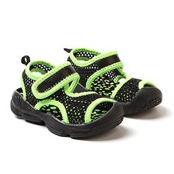 CYBLING Kids Water Sandals Breathable Mesh Athletic Beach Sh