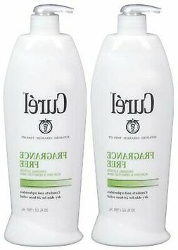 Curel Body Lotion - Fragrance Free - 20 oz - 2 pk