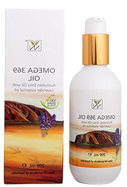 Extra Large, 100% Pure Australian Emu Oil w/Lavender Essenti