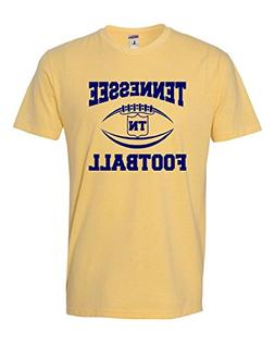 Go All Out Small Banana Cream Adult Tennessee Football Delux