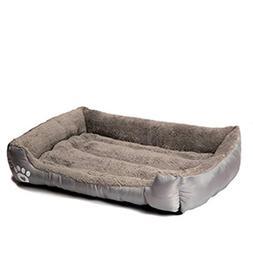 Krastal Pet Dog Bed Warming Dog House Soft Material Nest Dog