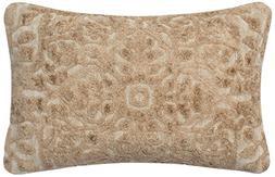 """Loloi Accent Pillow PSETGPI12CR00PI11 Cream 1'-2"""" x 1'-10"""" V"""