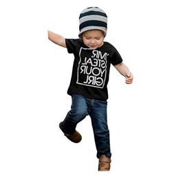 Moonker Baby Tops for 1-5 Years Old,Fashion Kids Baby Boys L