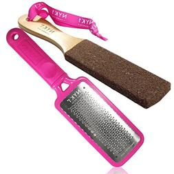 NYK1 Pink MEGAFILE Foot File Pedicure Rasp THE ORIGINAL with