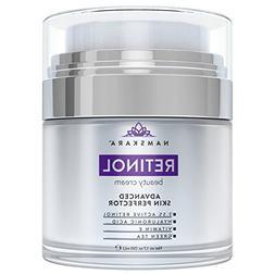 Namskara Retinol Moisturizer Cream with Active 2.5% Retinol