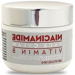 Natural Niacinamide Ultimate Strength Vitamin B Cream for Fa