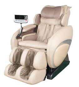 OS-4000 Zero Gravity Heated Reclining Massage Chair - Cream
