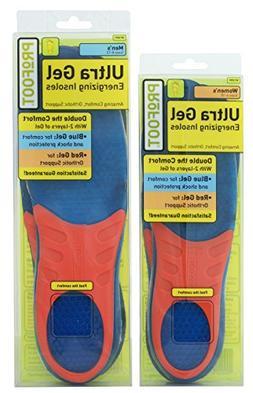 PROFOOT Ultra Gel Men's Massaging Gel Insole, Size 8-13, 1 p