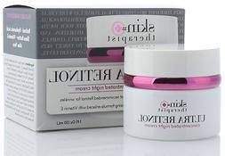 Skin Therapist 55+ Ultra Retinol Night Cream for Wrinkles, D