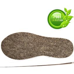 Soft Alpaca and Merino Wool Insoles - Pure and 100% Natural