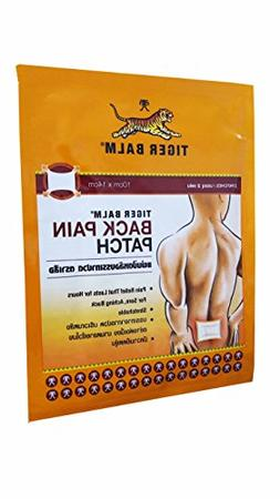 Tiger Balm, 6 Packs Tiger Balm Back Pain Patch, Pain relief