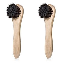 Trolleycar Shoe Polish Brushes | Applies Shoe Polish and Lea