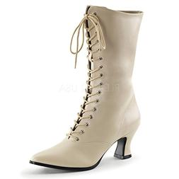 VIC-120  Granny Boot w Side Zipper