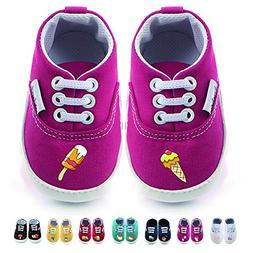 WALUCAN 32 Colors Printing Baby Boys Girls Anti-Slip First W