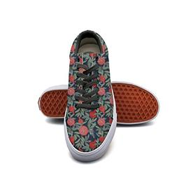 A Lot Of Pomegranates Womens' Casual Shoes Flat Lo-Top Fashi