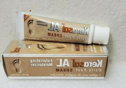 Kerasal AL Daily Foot Cream Exfoliating Moisturizer 1.5 Oz S