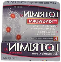 LotriminAF Ringworm Cream, Clotrimazole 1%, Clinically Pro