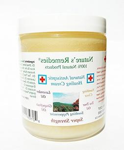 100% Natural Antiseptic Healing Cream - Dr. Recommended, 5X