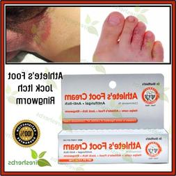 ATHLETE'S FOOT Cream Antifungal Skin Disease Foot Fungus Itc