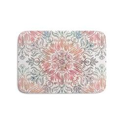 LACOP-Store Autumn Spice Mandala in Coral, Cream and Rose Ba