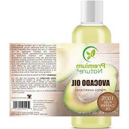 Avocado Oil Natural Carrier Oil - 4 oz Massage Oil Anti Agin