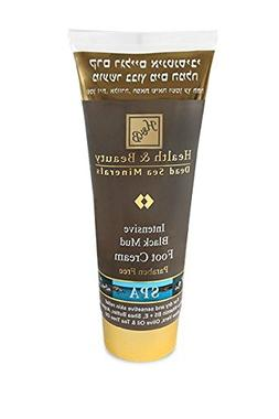H&B Dead Sea Intensive Black Mud Foot Cream