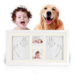 Businesscastle Baby Handprint Footprint Picture Frame Kit-HO