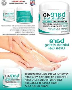 BARE UREA 40% + SALICYLIC ACID Moisturizing Gel For Dry Skin