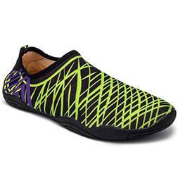 M.Roxxie Boys and Girls Barefoot Swim Water Skin Shoes Aqua