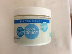 Bath & Body Works TRUE BLUE SPA Mega Mint FOOT MASSAGE CREAM
