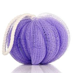 Blue Stones Bath Ball Flower Mesh Brushes Sponges Bath Acces