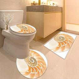 Toilet Cushion Suit Decor Nautilus Shell Showing The Chamber