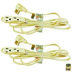 Royal Designs Beige Extension Cord 6' 3 Prong 18 Gauge Indoo