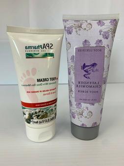 Body Luxuries Lavender Chamomile Foot Scrub & SPA Pharma Foo