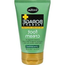 borage therapy foot cream unscented 2 4