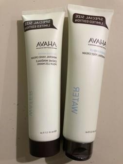 Ahava Bundle -  Hand Cream &  Foot Cream 5.1 oz / 150 ml Eac