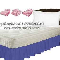 Bunk Bed, 4ft Bed, Super King Bed BASE PLATFORM VALANCE SHEE