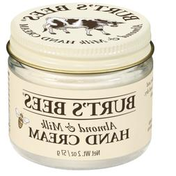 Burt's Bees Almond & Milk Hand Cream - 2 Ounce Jar Pack of 2
