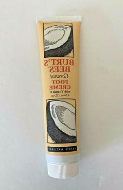 Burt's Bees Coconut Foot Creme with Vitamin E 4.34 oz 99.4%